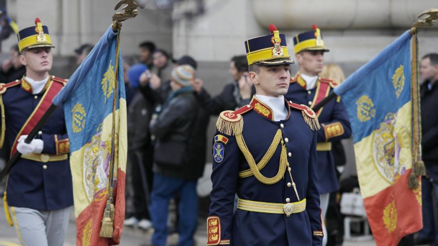 Ziua Nationala a Romaniei parada militara