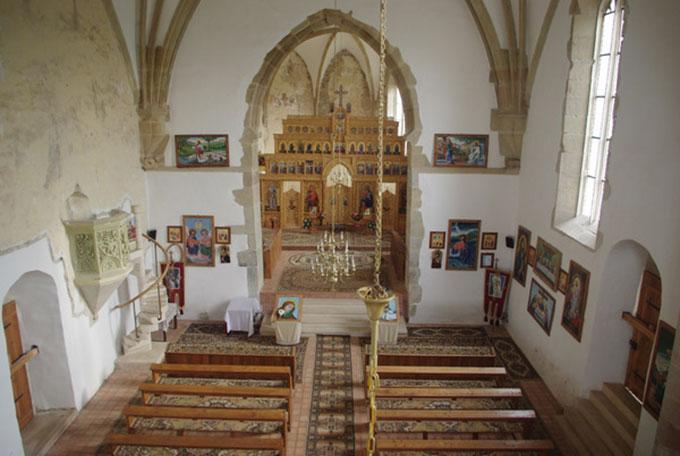 Arhitectura și simbolurile sașilor evanghelici au fost păstrate de ortodocsi. Sursa foto: www.sienbuerger.de