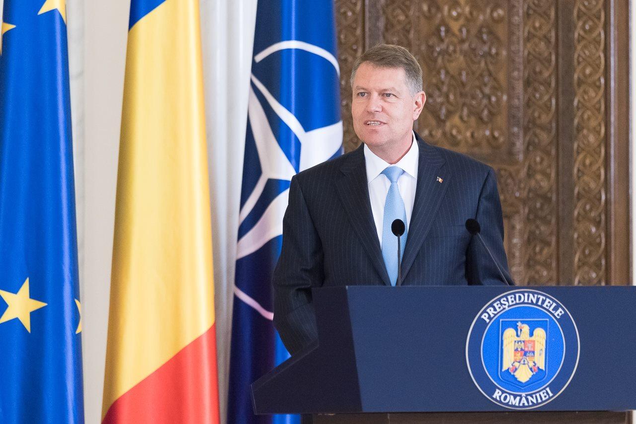 Președintele Klaus Iohannis / Sursa foto: FB KI