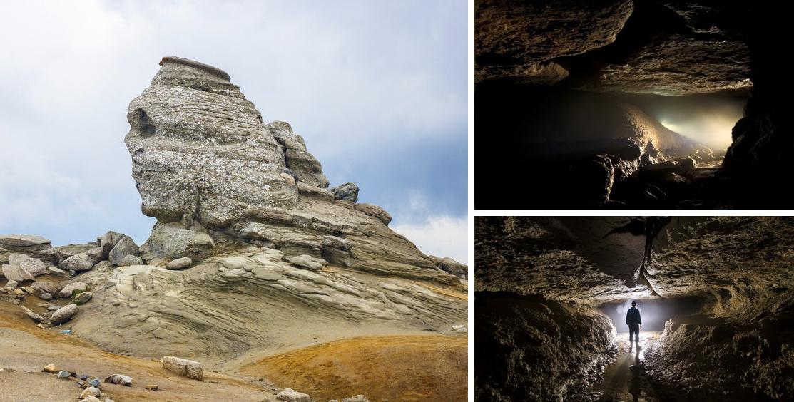 Fenomene stranii și legende fascinante. Descoperirile misterioase din Munţii Bucegi – VIDEO