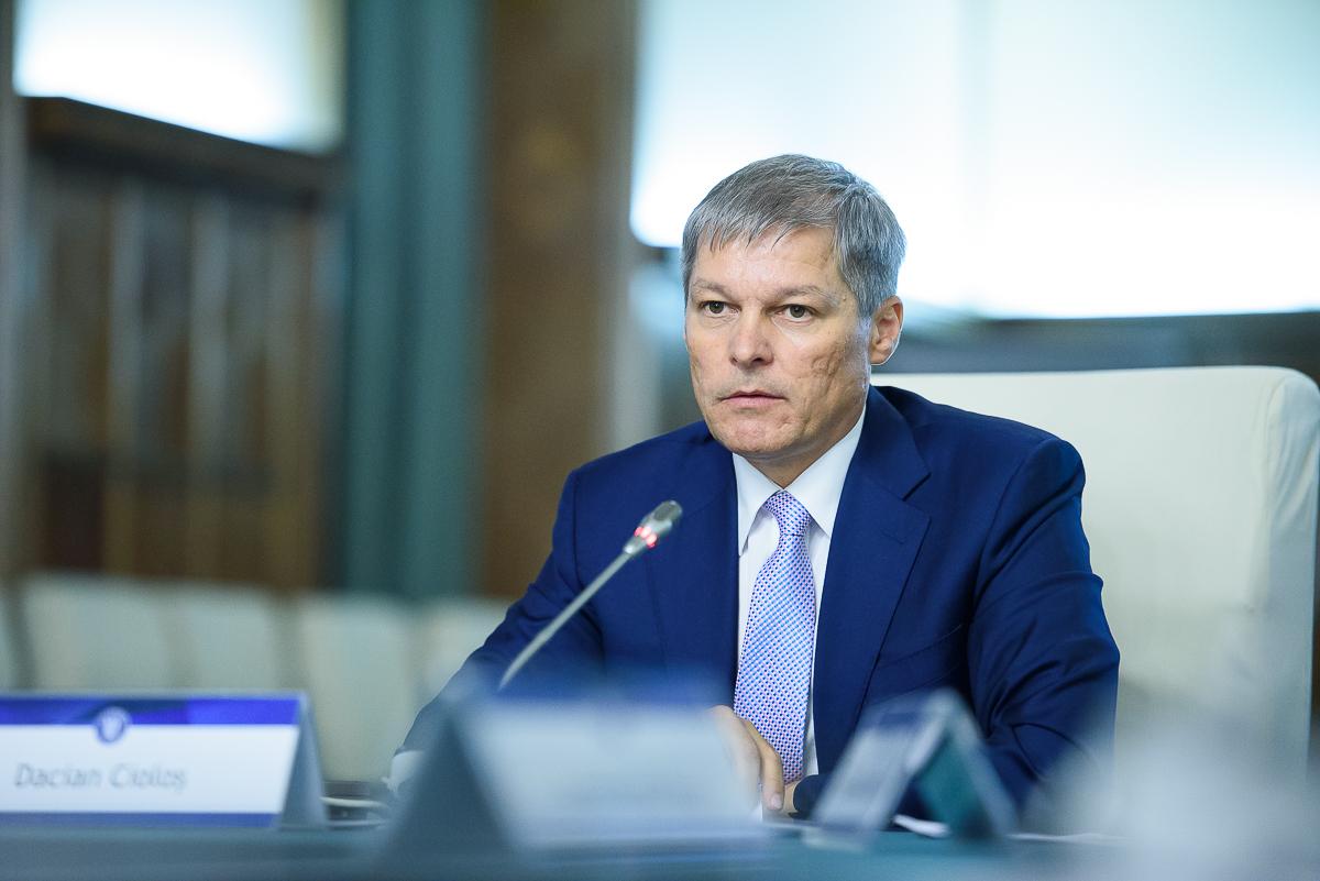 Premierul Dacian Ciolos / Sursa foto: gov.ro