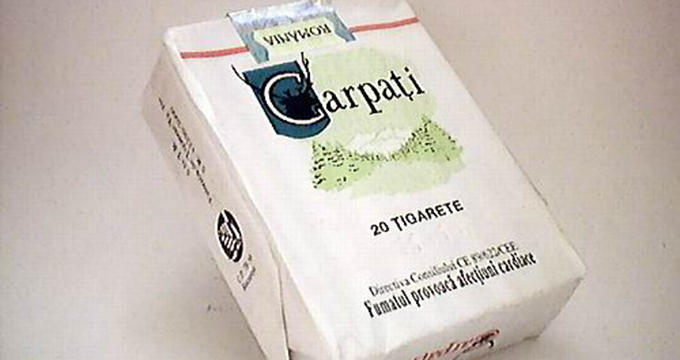 Cât a ajuns să coste un pachet de ţigări Carpați. Țigări de colecţie, pentru nostalgici