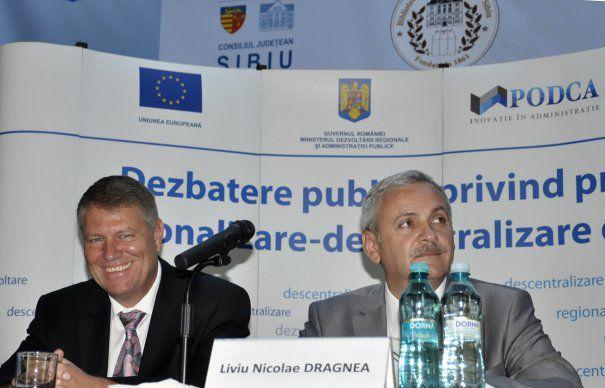 Liviu Dragnea, atac fără precedent la Klaus Iohannis: Bate câmpii