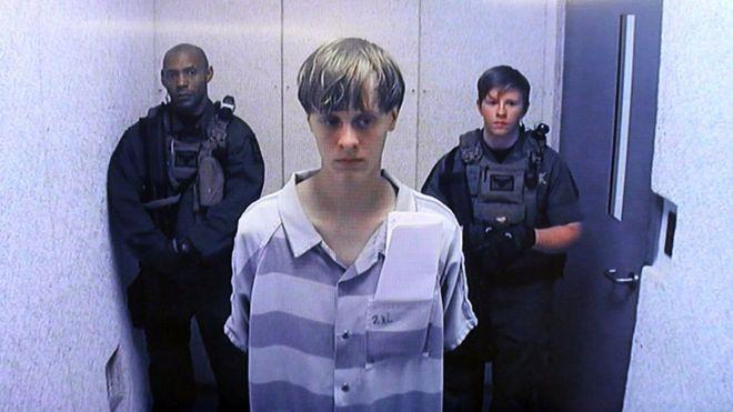 Dylann Roof, autorul masacrului din Carolina de Sud