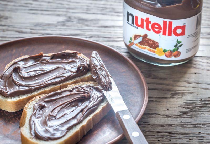 Ciocolata Nutella scoasă de la vânzare în Europa