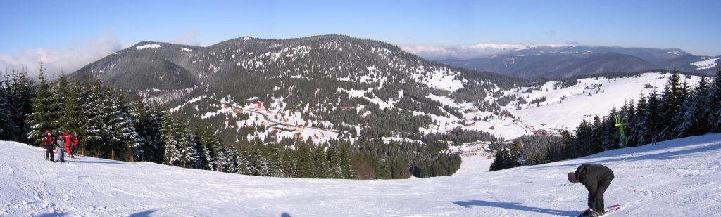 Vedere de pe Pârtia Arieșeni Vârtop