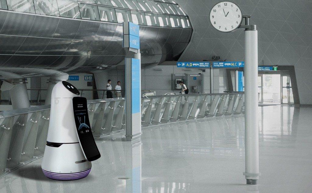 LG Airbot va oferi informații turiștilor din aeroporturi