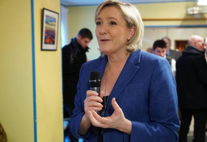 Marine Le Pen, favorită in sondaje pentru postul de președinte al Franței