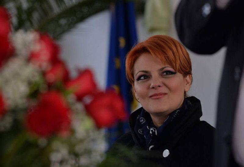 Viitorul ministru al Muncii, Lia Olguţa Vasilescu