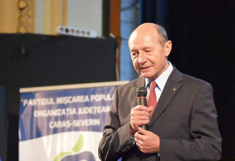 Reacţia fostului preşedinte Traian Băsescu la ancheta SRI în cazul Coldea