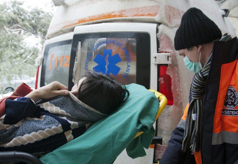 Mii de apeluri la Ambulanta Foto-Mediafax