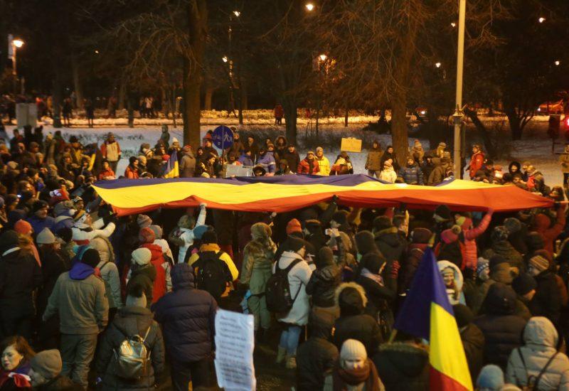 Proteste împotriva Guvernului Grindeanu