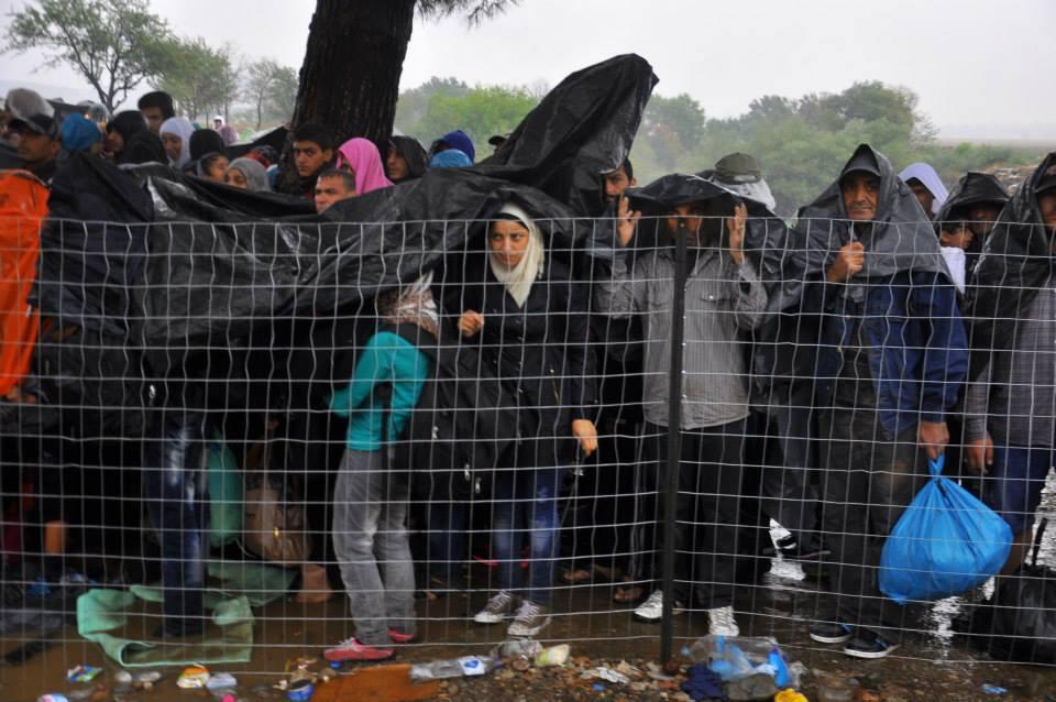 Refugiați Grecia