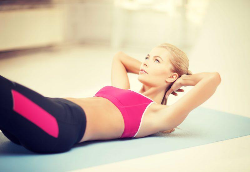 Exerciții care te ajută să scapi de burtă