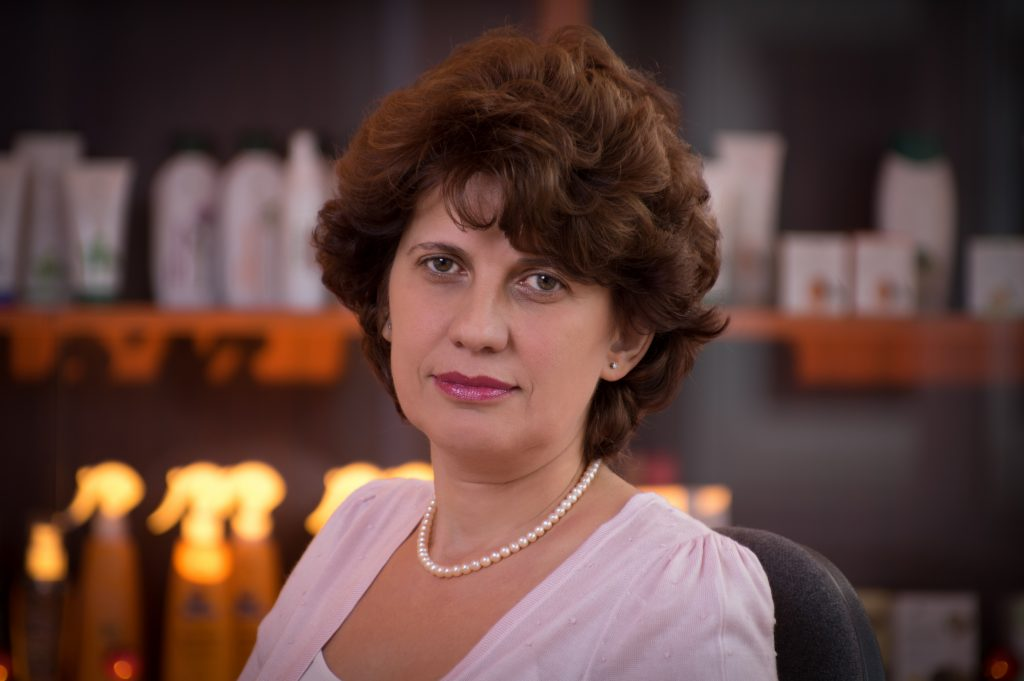 Susana Laszlo, director general Cosmetic Plant