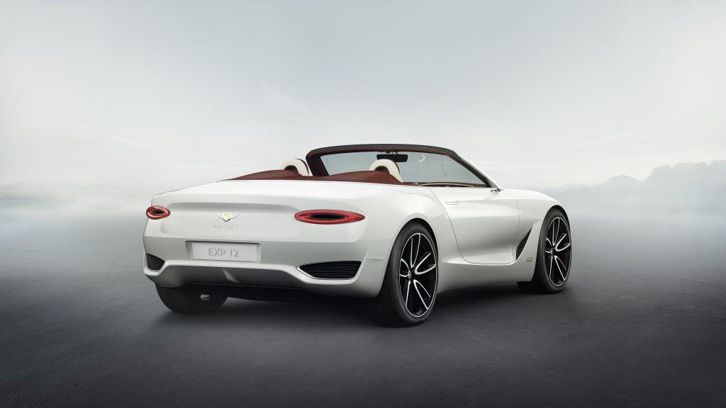 Bentley a prezentat la Geneva prima sa mașină electrică