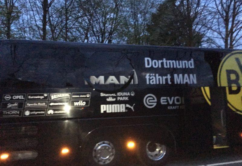 Atacatorul echipei Dortmund, arestat