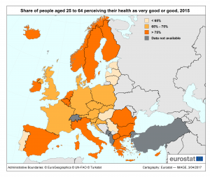 Optimism ridicat privind sănătatea românilor