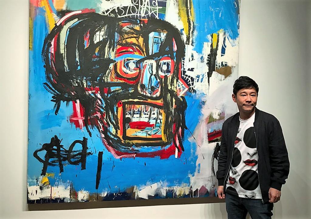 Miliardarul japonez Yusaku Maezawa, care s-a îmbogățit din fondarea unor magazine de comerț electronic, a plătit 110,5 milioane de dolari pe un tablou al lui Jean-Michel Basquiat